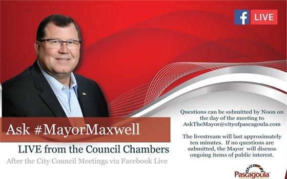 Ask The Mayor flyer