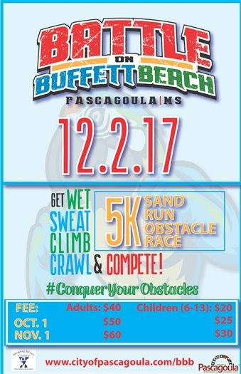 Battle on Buffett Beach event flyer