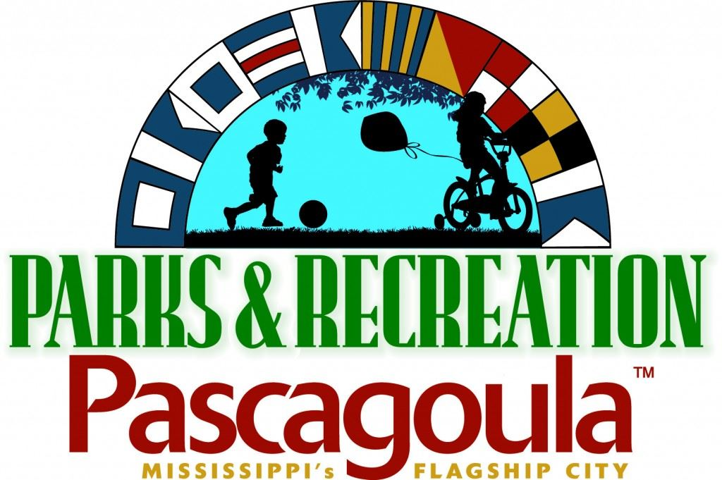 Parks & Recreation Logo, Pascagoula, Mississippi's Flagship City