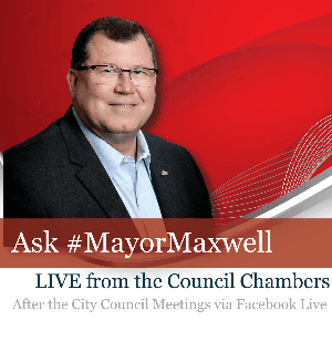 Ask Mayor Maxwell Flyer