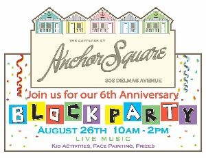 Anchor Square Block Party Flyer