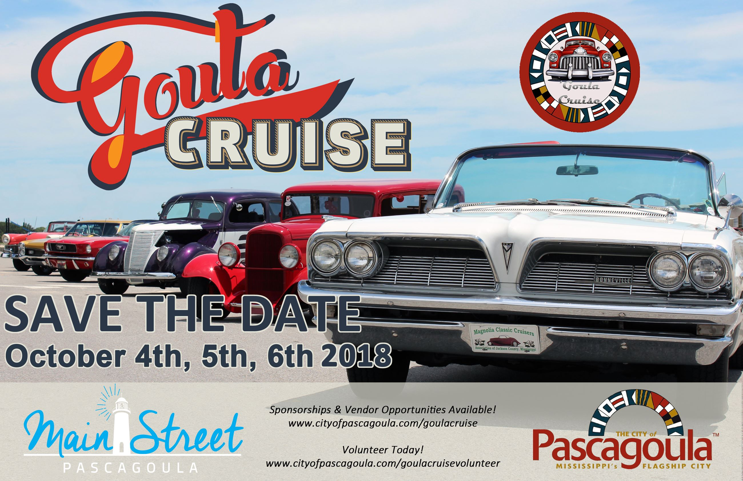 Goula Cruise save the date
