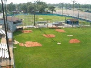Youth Baseball Complex Aerial View