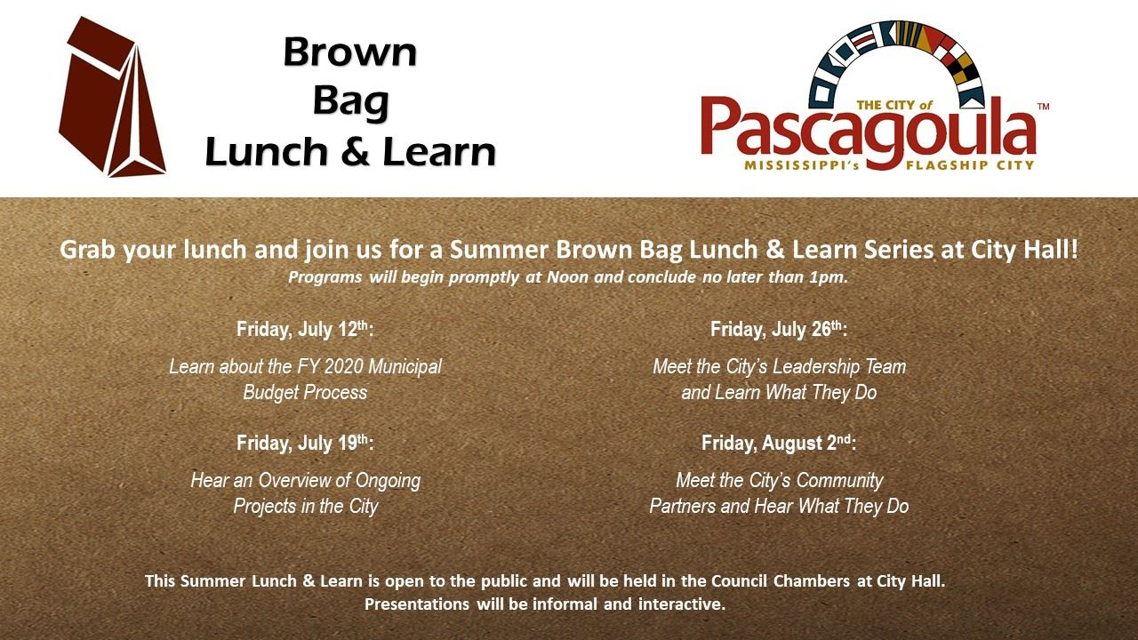 SERIES - Summer Lunch Learn 7-19