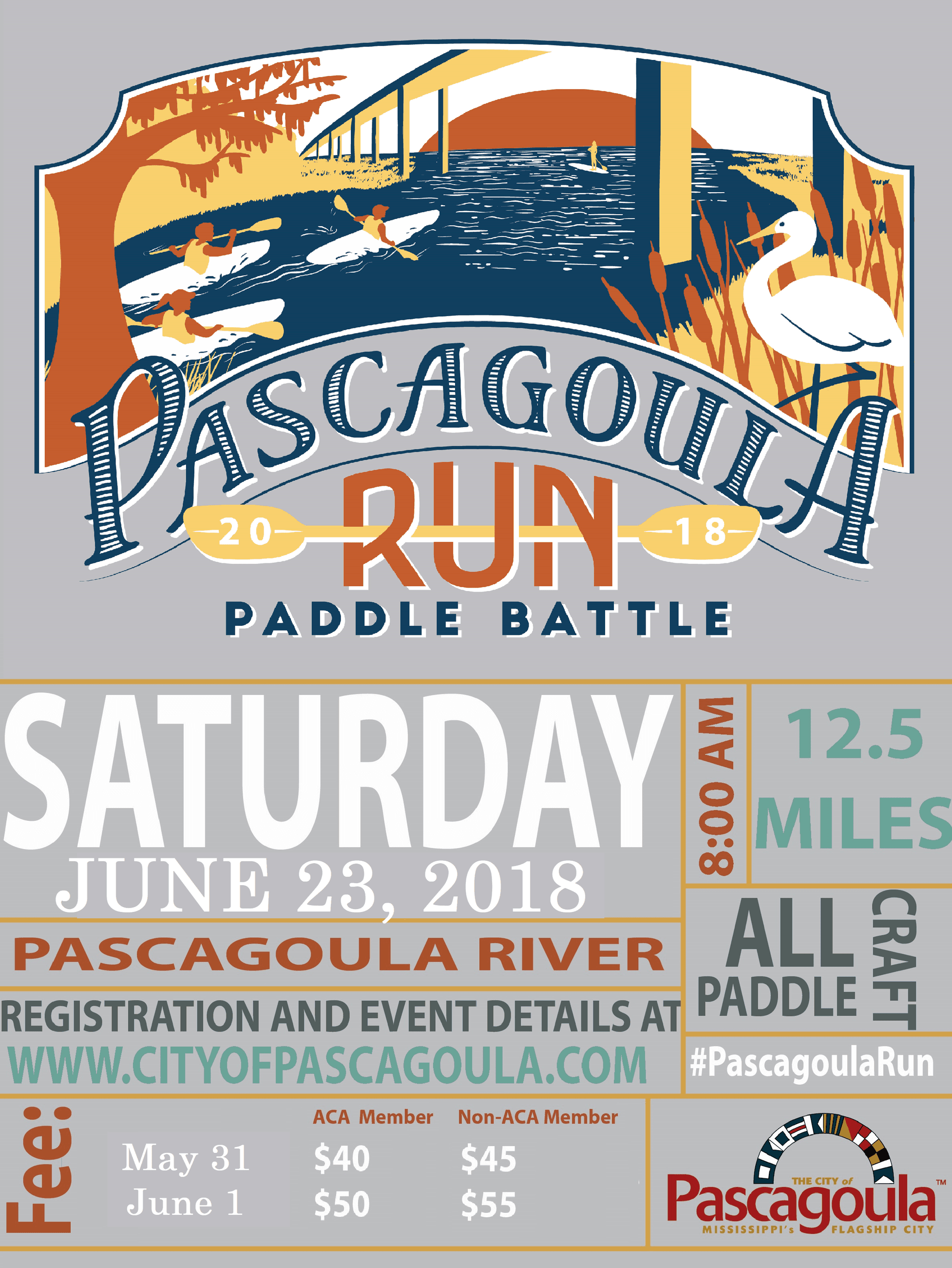 Pascagoula Run Flyer