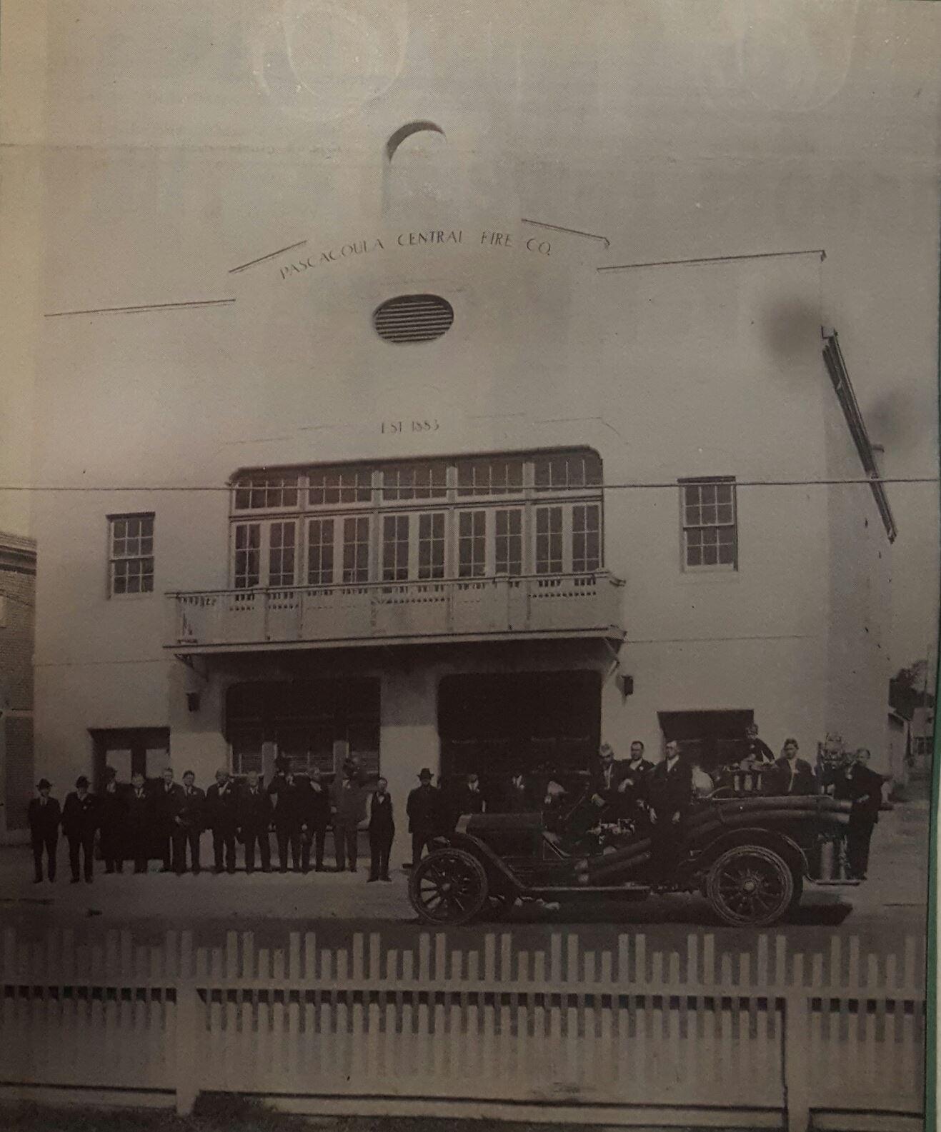 history of the pascagoula fire dept pascagoula ms